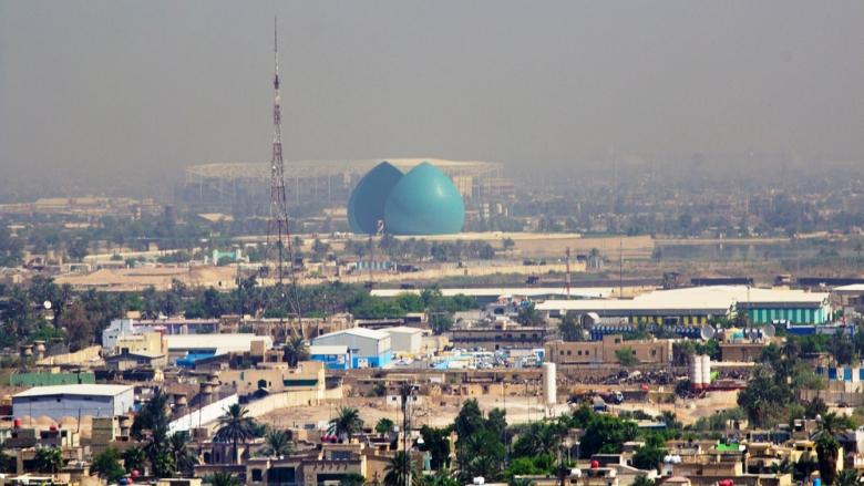 عرض جوي - بغداد في العراق - Shutterstock l rasoulali