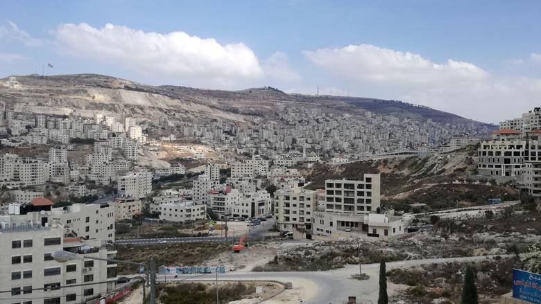 صورة لمدينة نابلس